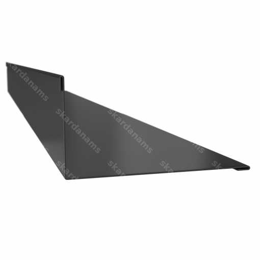 Flange element type 5. Roofing components. Drip edge flashing.