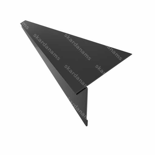 Drip edge type 3. Eaves roofing sheet metal component.