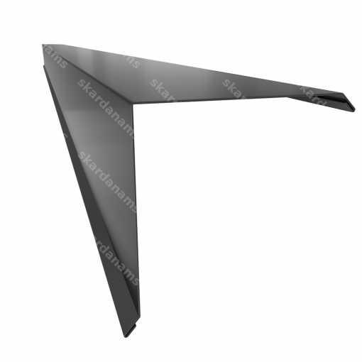 Rake edge type 4. Sheet metal bending product.