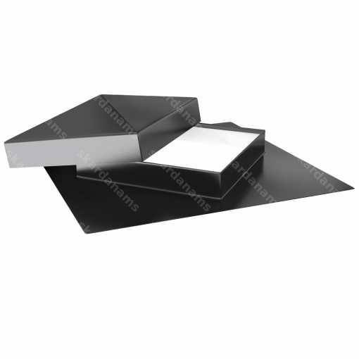 Diagonal roof hatch type 1. Roof access components.