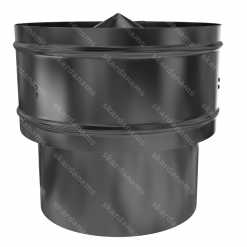 Roof vent cap type 2. Ventilation system protection element.