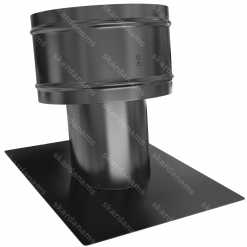 Roof vent cap type 1. Ventilation system protection component.